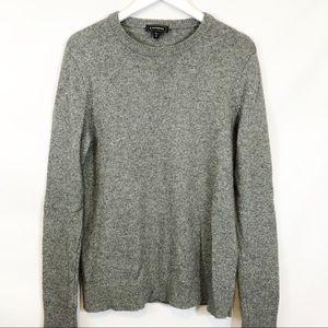 Express Gray wool blend sweater sz L